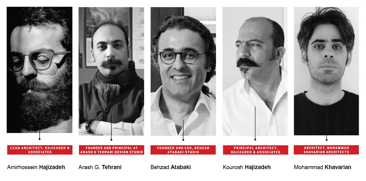 Five Iranian Architects in Middle east 2017
