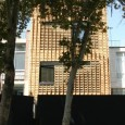 Brick pattern residential apartment in Tehran by Alireza Mashhadimirza   002