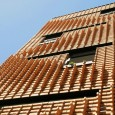 Brick pattern residential apartment in Tehran by Alireza Mashhadimirza   02