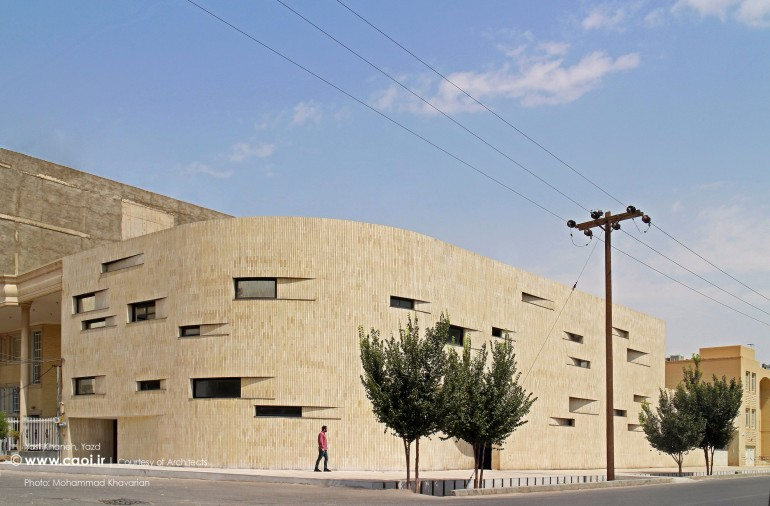 Yast Khaneh Renovation Project in Yazd by Iranian Architects Mohammad Khavarian and Amir Shahrad