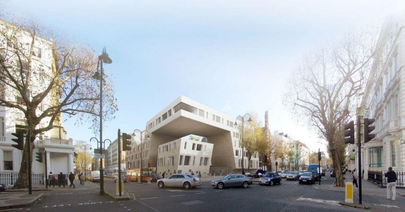 Design of Iranian Embassy in London by Daneshgar Architect   001