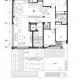 3rd floor plan Malek Residential building
