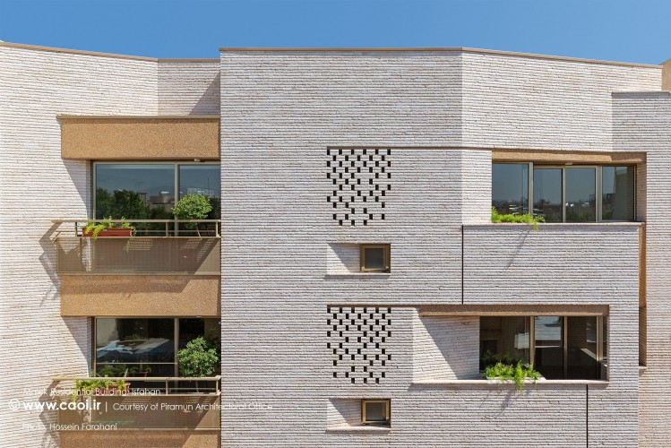 Malek Residential  building Isfahan Architecture Piramun Architectural Office  1