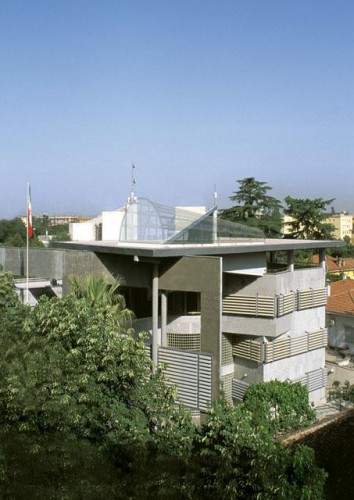 Embassy of Iran in Albania by Tajeer architects Ali Akbar Saremi  1