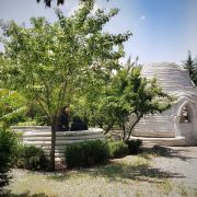 White dome  Farabi campus of Art university of Tehran in Karaj  2