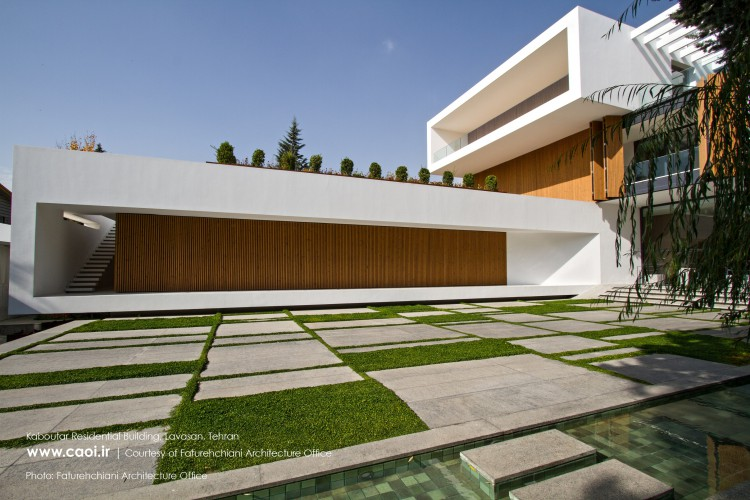KABOUTAR RESIDENTIAL BUILDING FATOURECHIANI ARCHITECTURE OFFICE  1