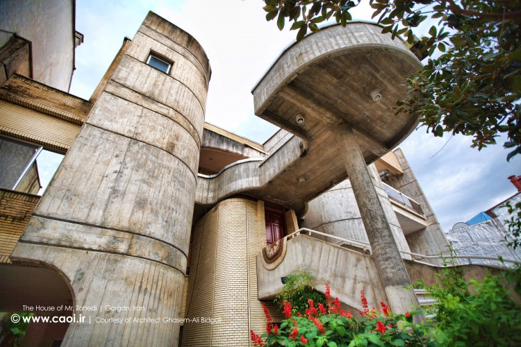 The house of Mr.Zahedi in Gorgan in Iran by Architect GhasemAli Bidgoli  1