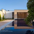 Pomegranate garden house of grandfather in Taft Modern Villa in Iran  13