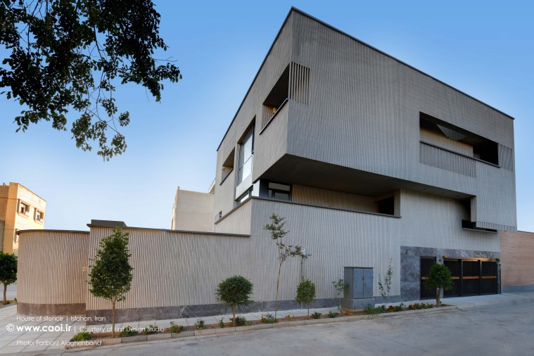 House of Silence in Isfahan by First Design Studio  1