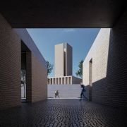 Golshahr Mosque and Plaza in Karaj by Saffar Studio Modern Mosque  11