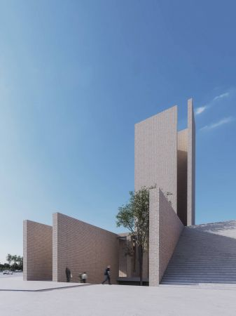 Golshahr Mosque and Plaza in Karaj by Saffar Studio Modern Mosque  1