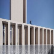 Golshahr Mosque and Plaza in Karaj by Saffar Studio Modern Mosque  5