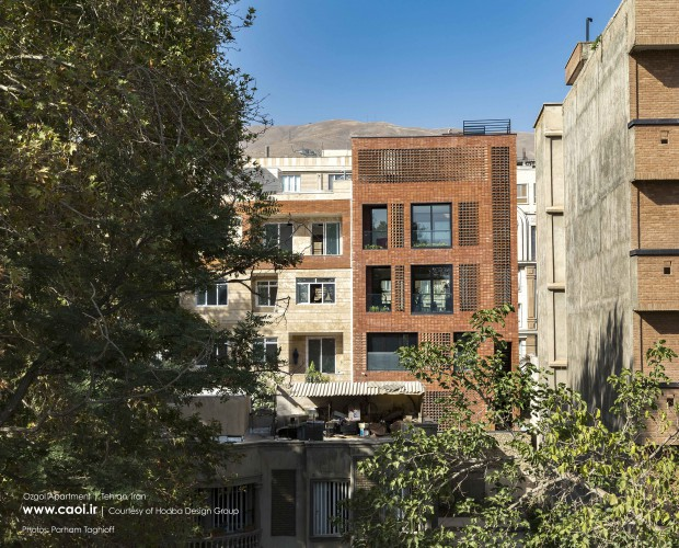 Ozgol Apartment in Tehran by Hooba Design Group Modern Apartment  1