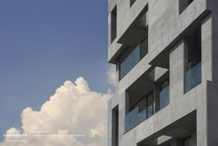 Building No 1 in Tehran Modern Apartment in Iran  1