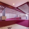 Crimson Sequence Cinema Entrance by Admun Studio  1