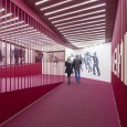 Crimson Sequence Cinema Entrance by Admun Studio  6