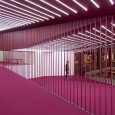 Crimson Sequence Cinema Entrance by Admun Studio  8