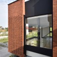 Brick Pattern House in Royan Mazandaran Brick Architecture  12