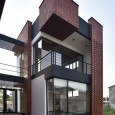 Brick Pattern House in Royan Mazandaran Brick Architecture  4