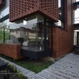 Brick Pattern House in Royan Mazandaran Brick Architecture  7