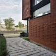 Brick Pattern House in Royan Mazandaran Brick Architecture  9