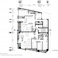 4th and 5th floor plan Sarvin residential building