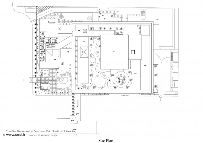 CinnaGen Pharmaceutical Company Site Plan