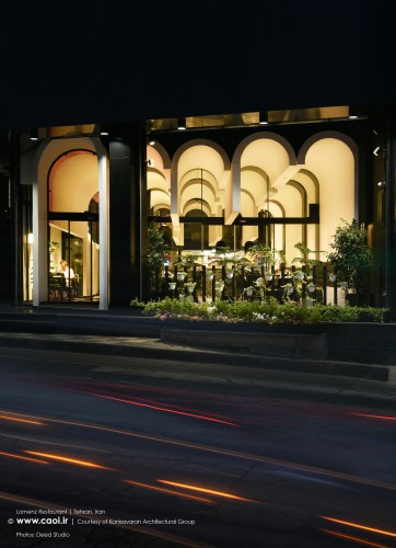 Lomenz Restaurant in Tehran by Kanisavaran Architectural Group  1