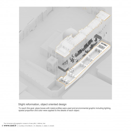 The Armenian Ethnographic Museum of new Jolfa in Isfahan Design Process  4