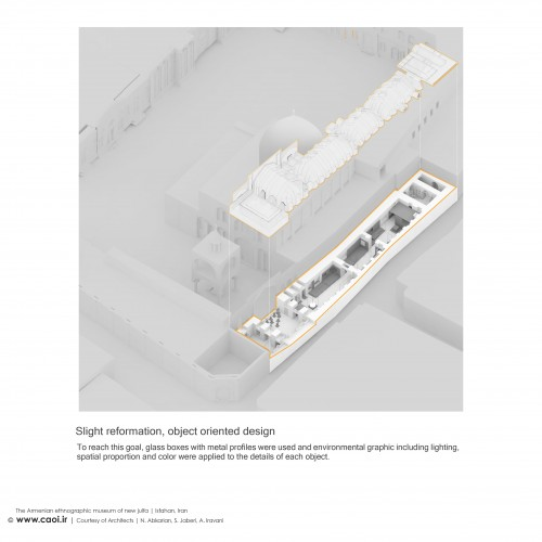 The Armenian Ethnographic Museum of new Jolfa in Isfahan Design Process  5