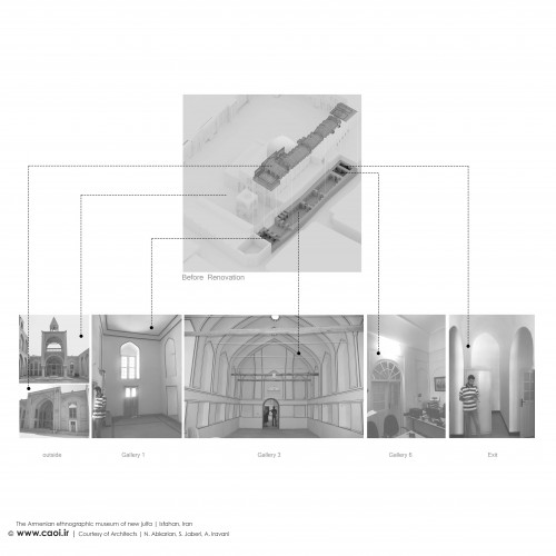 The Armenian Ethnographic Museum of new Jolfa in Isfahan Design Process  8