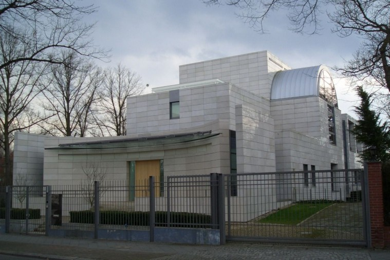 Embassy of Iran in Germany Berlin by Darab Diba  01