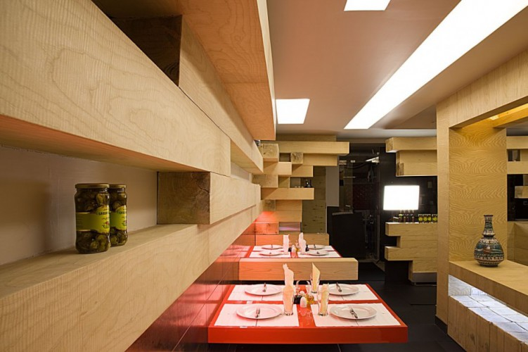 Ator Restaurant in Tehran Iran by Expose Architecture  01