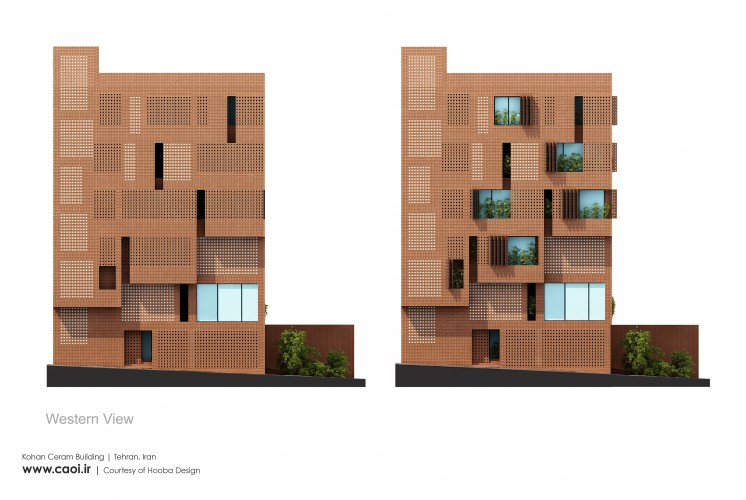 Elevation Design Kohan Ceram Building  2
