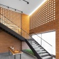 Kohan Ceram Central Office Building in Tehran Hooba Design Brick Architecture  15