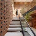 Kohan Ceram Central Office Building in Tehran Hooba Design Brick Architecture  30