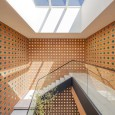 Kohan Ceram Central Office Building in Tehran Hooba Design Brick Architecture  31