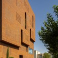Kohan Ceram Central Office Building in Tehran Hooba Design Brick Architecture  5
