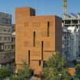 Kohan Ceram Central Office Building in Tehran Hooba Design Brick Architecture  6
