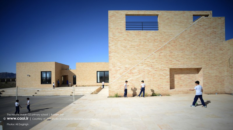 The Noor e Mobin G2 primary school in Bastam FEA Studio Iranian Architecture  7