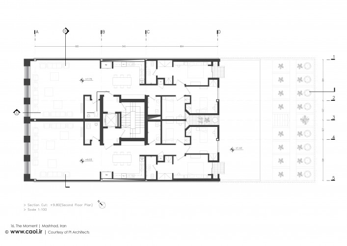 16 The Moment Second Floor Plan