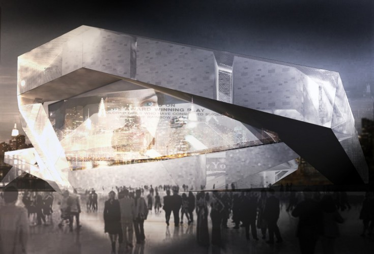 Long Island Cinema Competition in New York by Iranian Architects  1