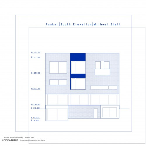 Elevations Paakat residential building Rooydaad Architects CAOI  3