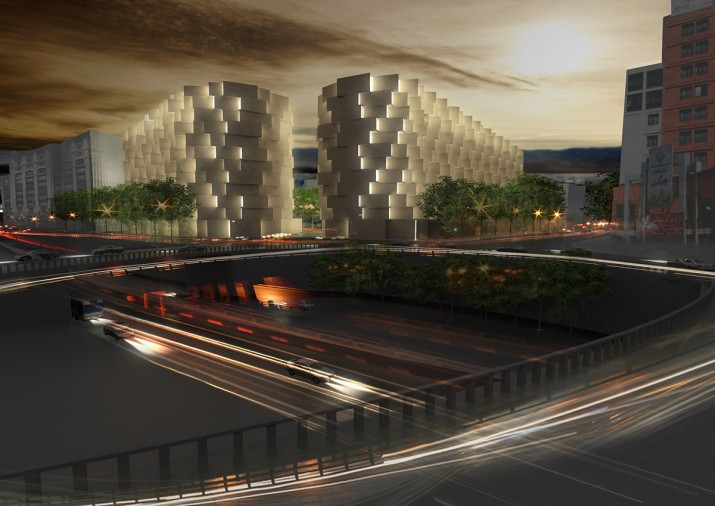 commercial residential complex Mashhad Honorable Mention  1