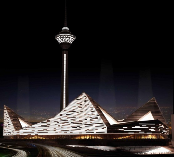 Milad tower 2nd phase international competition 4th place  1