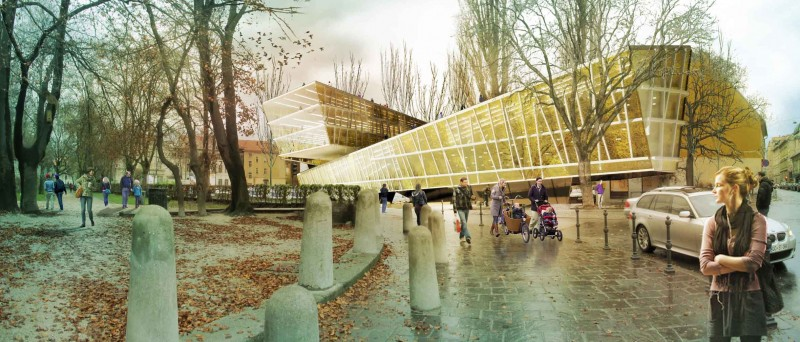National and University Library NUK II by Kamvari Architects  1