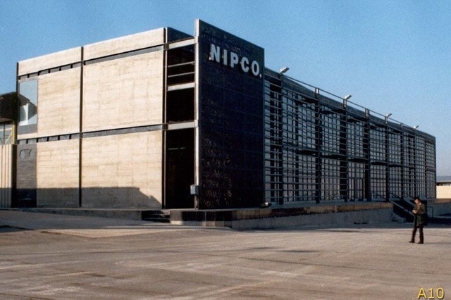 NIPCO Factory in Iran by Arash Mozafari and Mehrdad Golmohamadi  1