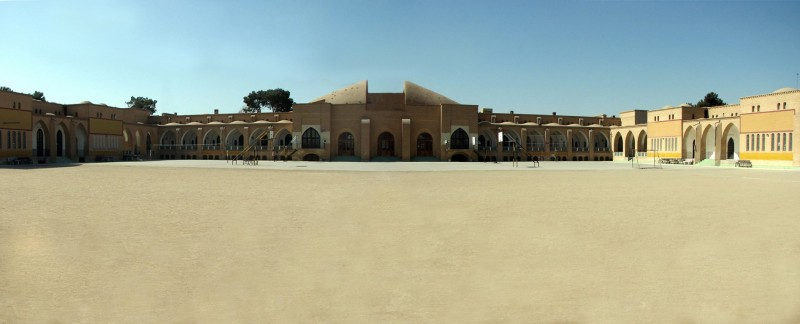 Iranshahr High school in Yazd  1