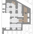 Interior design of Art Music Research Faculty  Flooring Plan