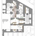Interior design of Art Music Research Faculty furniture plan